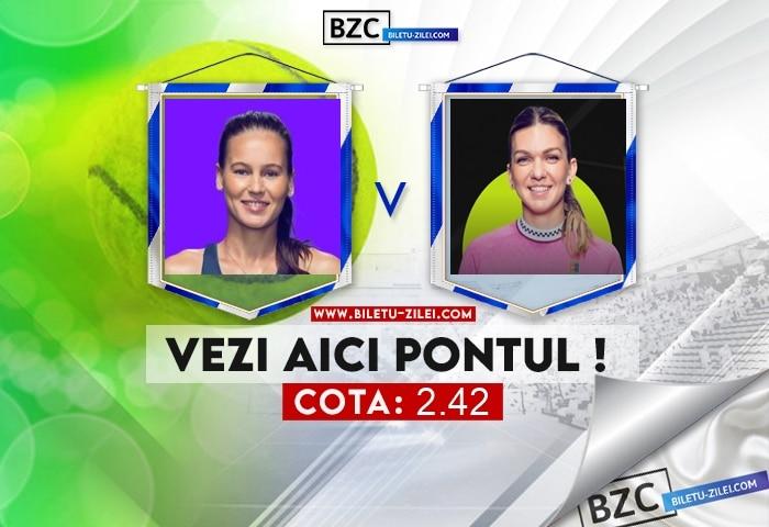 Veronika Kudermetova – Simona Halep ponturi pariuri 21.10.2021