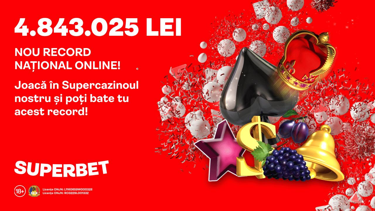 Super Jackpot la Superbet Casino