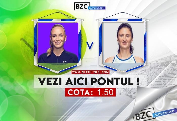 Donna Vekic – Irina Begu ponturi pariuri 20.10.2021