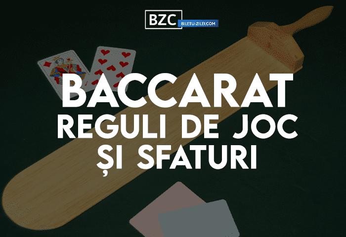 baccarat joc casino