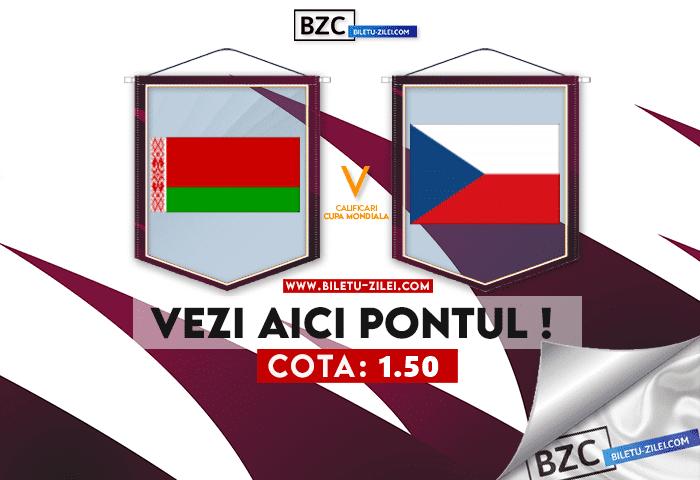 Belarus – Cehia ponturi pariuri 11.10.2021