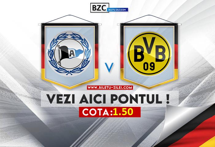 Bielefeld – Dortmund ponturi pariuri 23.10.2021