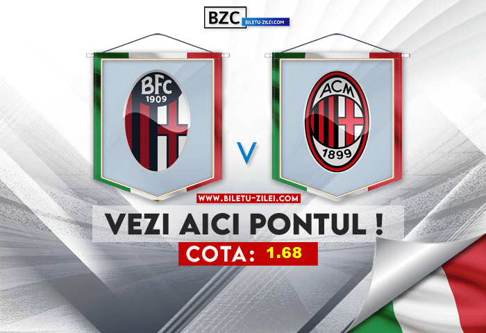 Bologna – AC Milan ponturi pariuri 23.10.2021