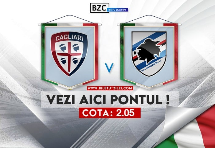 Cagliari – Sampdoria ponturi pariuri 17.10.2021