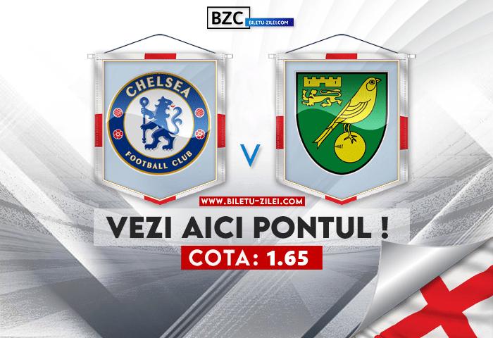 Chelsea – Norwich ponturi pariuri 23.10.2021