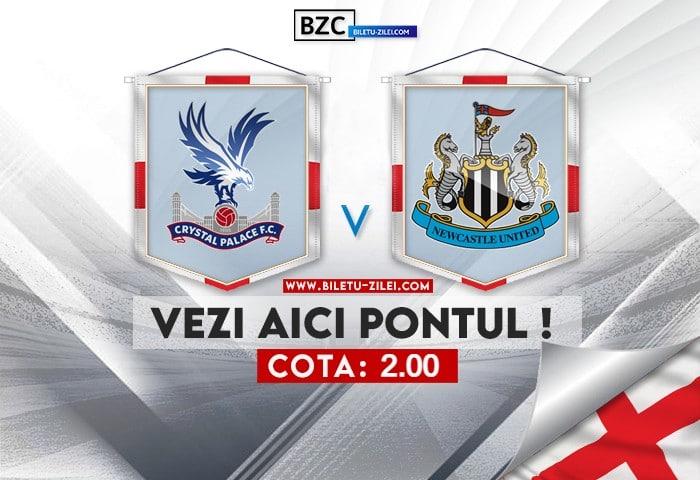 Crystal Palace – Newcastle ponturi pariuri 23.10.2021