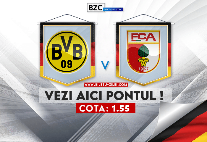 Dortmund – Augsburg ponturi pariuri 02.10.2021