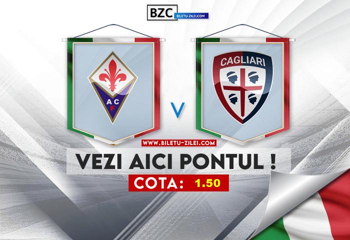 Fiorentina – Cagliari ponturi pariuri 24.10.2021