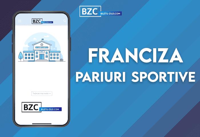 Franciză pariuri sportive (2021)