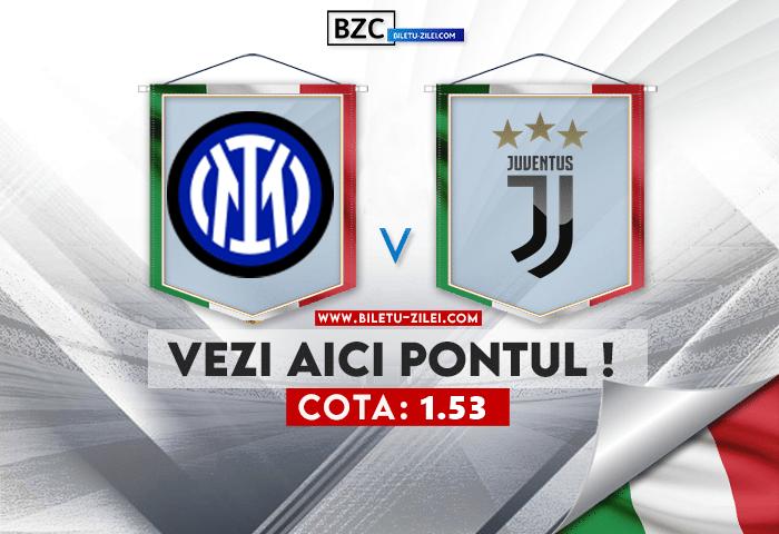Inter – Juventus ponturi pariuri 24.10.2021