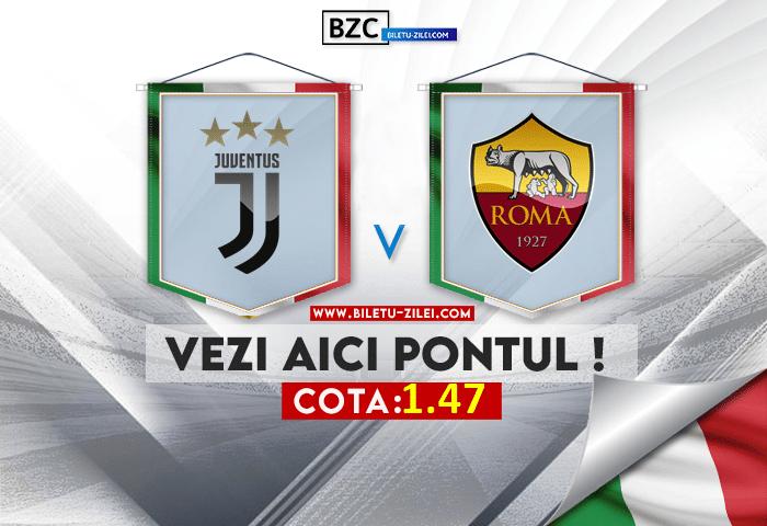 Juventus – AS Roma ponturi pariuri 17.10.2021