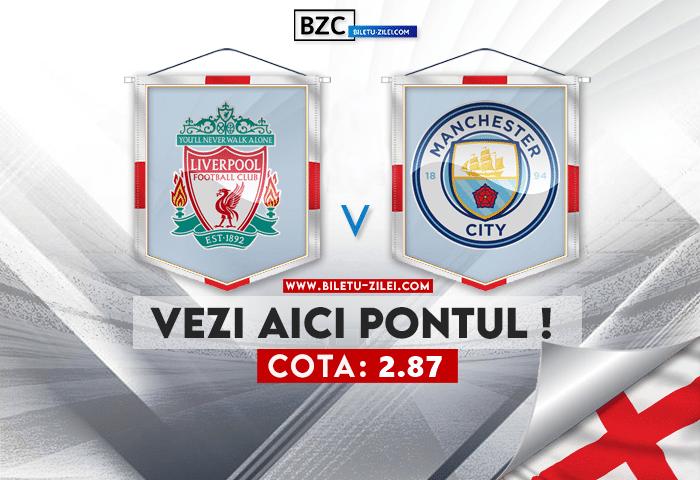 Liverpool – Manchester City ponturi pariuri 03.10.2021