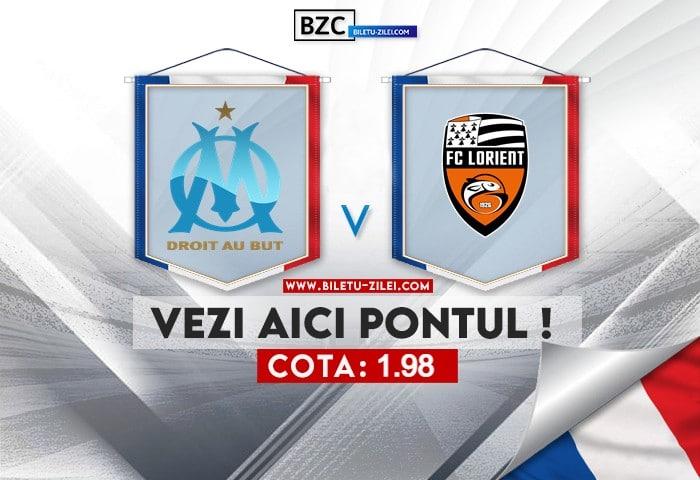 Marseille – Lorient ponturi pariuri 17.10.2021