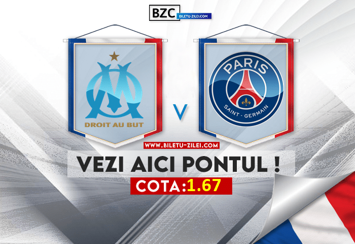Marseille – PSG ponturi pariuri 24.10.2021