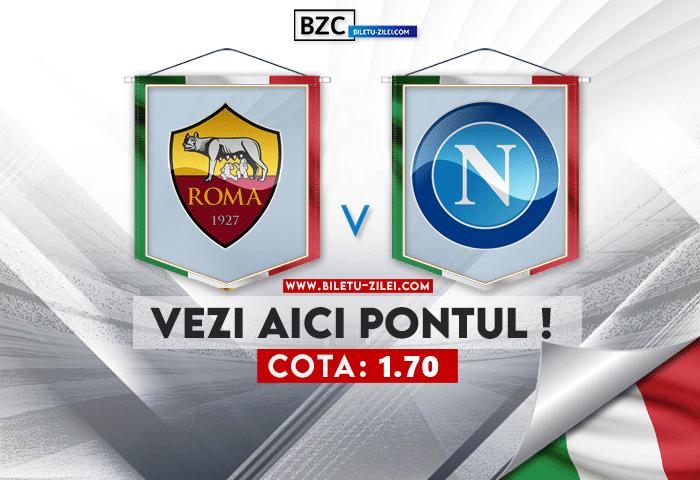 AS Roma – Napoli ponturi pariuri 24.10.2021
