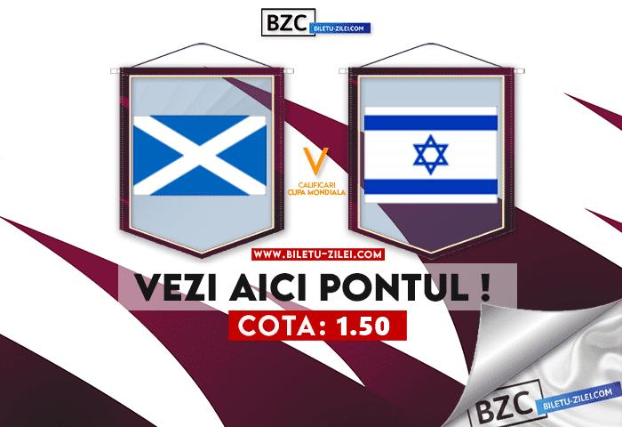 Scotia – Israel ponturi pariuri 09.10.2021