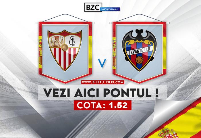 Sevilla – Levante ponturi pariuri 24.10.2021