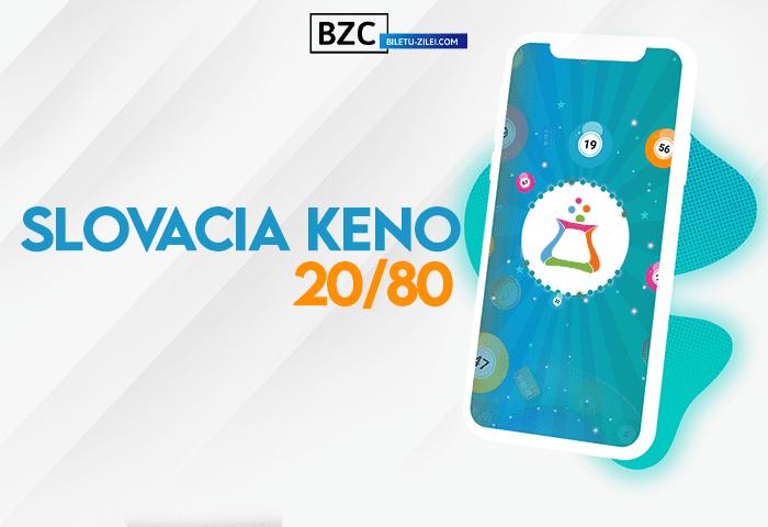 slovacia keno 20 80