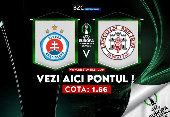Slovan – Lincoln ponturi pariuri 21.10.2021