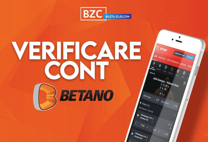 Verificare cont Betano