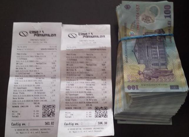 30 de bilete castigate la pariuri intr-o zi