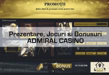 Admiral Casino prezentare jocuri si bonusuri