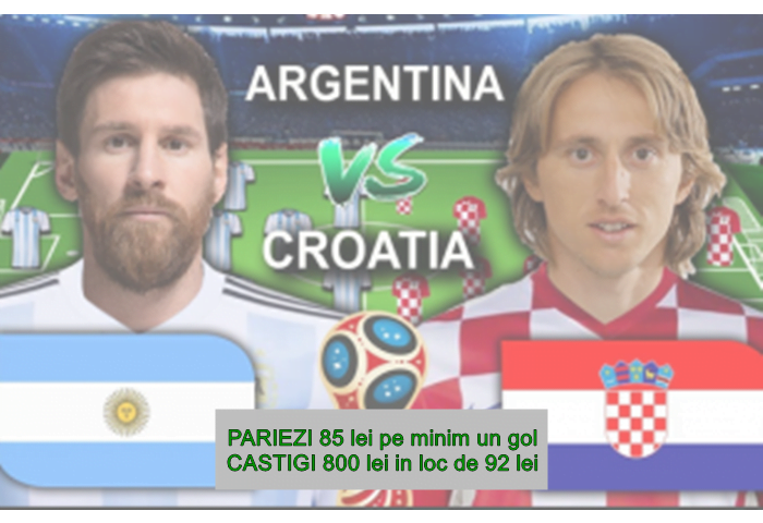 Argentina vs Croatia 308x200
