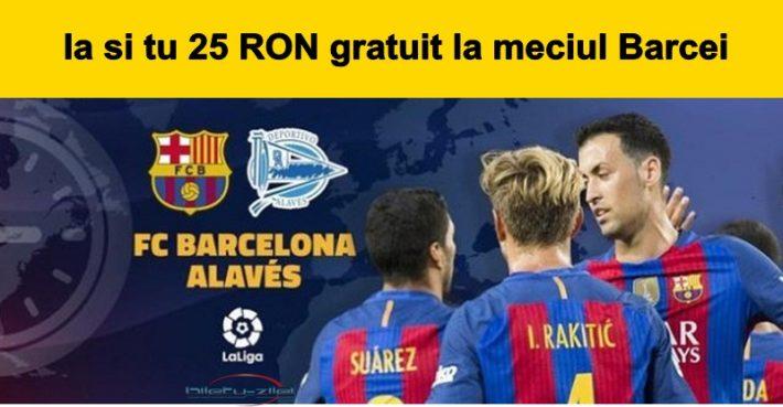 Barcelona vs Alaves La Liga