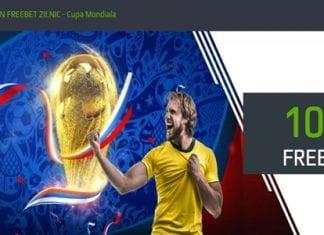 Bonus Netbet 100 RON Freebet zilnic la Cupa Mondiala