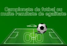 Campionate de fotbal cu multe rezultate de egalitate