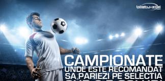 Campionate de fotbal unde se inscriu sub 2.5 goluri pe meci