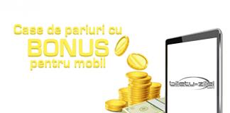 Case de pariuri cu bonus pentru mobil