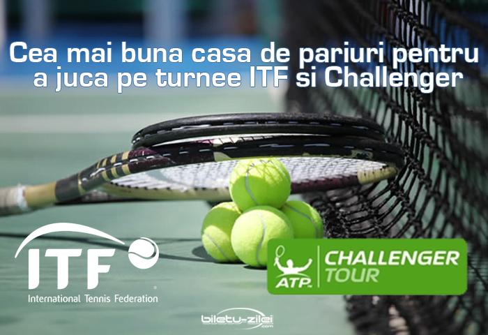 Cea mai buna casa de pariuri pentru a juca pe turnee ITF si Challenger Ponturi pariuri Scoala de pariuri