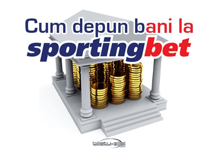 Sportingbet depunere bani