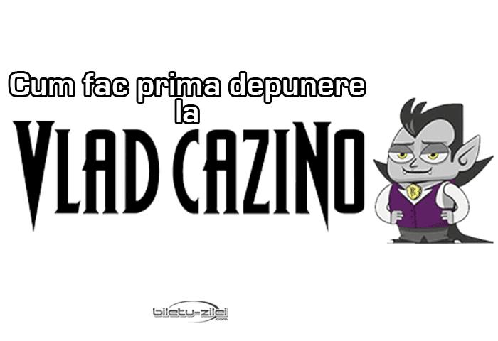 Vlad Cazino depunere bani