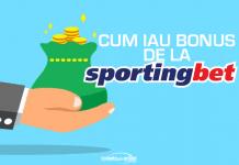 Cum iau bonusul de la Sportingbet