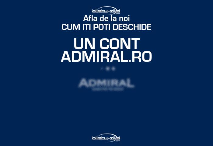 Cum imi fac cont la Admiral