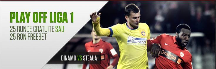 Dinamo - Steaua promotie netbet