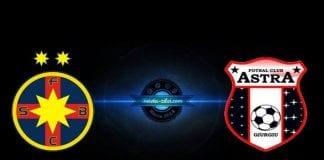 FCSB – Astra – ponturi pariuri Romania Liga 1 – 4 noiembrie 2018