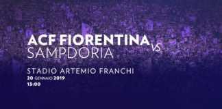 Fiorentina – Sampdoria – ponturi pariuri Italia Serie A – 20 ianuarie 2019