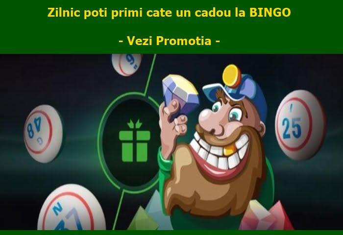 La Unibet Bingo ai 4 zile consecutive cu promotii