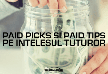 Paid picks si paid tips pe intelesul tuturor