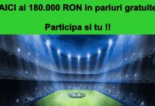 Pariaza pana pe 5 august la Unibet si poti castiga unul din cele 100 de premii saptamanale in valoare de 600 RON