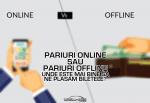 Pariuri online sau pariuri offline unde este mai bine sa ne plasam biletele 1