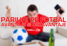 Pariuri pe fotbal avantaje si dezavantaje