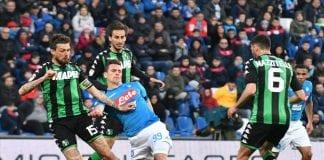 Ponturi fotbal – Napoli – Sassuolo – Italia Serie A – 07.10.2018