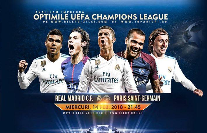 Ponturi fotbal - Real Madrid - PSG - Liga Campionilor - 14.02.2017 1