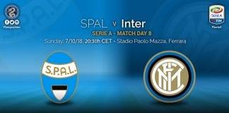 Predictii – Spal – Inter Milano – Italia Serie A – 07.10.2018