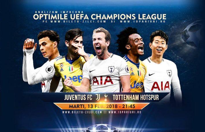 Predictii fotbal - Juventus Torino - Tottenham - Liga Campionilor - 13.02.2018 1