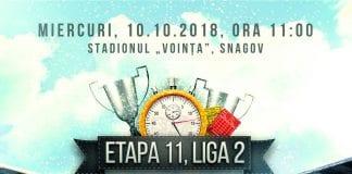 Pronostic – Sportul Snagov – Balotesti – Romania Liga 2 – 10.10.2018